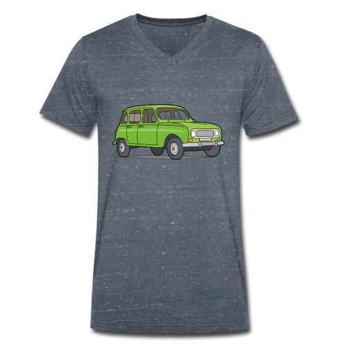 Grüner R4 (Auto) - Männer Bio-T-Shirt mit V-Ausschnitt von Stanley & Stella