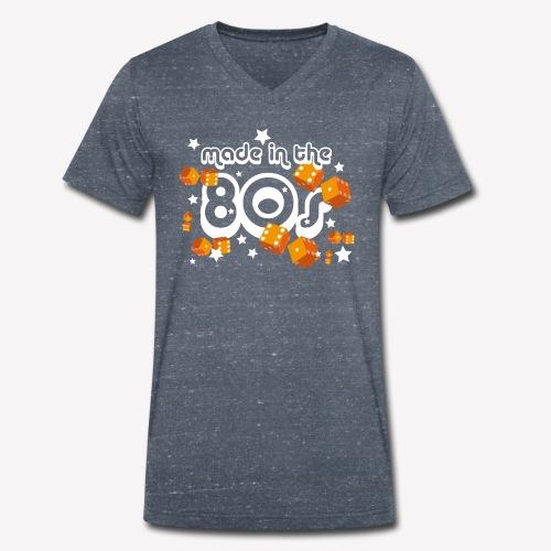 Made in the 80s - Männer Bio-T-Shirt mit V-Ausschnitt von Stanley & Stella