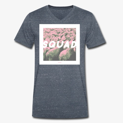 SQUAD #01 - Männer Bio-T-Shirt mit V-Ausschnitt von Stanley & Stella