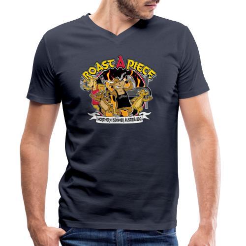 Roast a Piece Streetwear - Männer Bio-T-Shirt mit V-Ausschnitt von Stanley & Stella