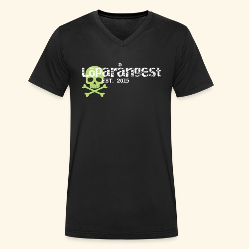 loeparangest - Ekologisk T-shirt med V-ringning herr från Stanley & Stella
