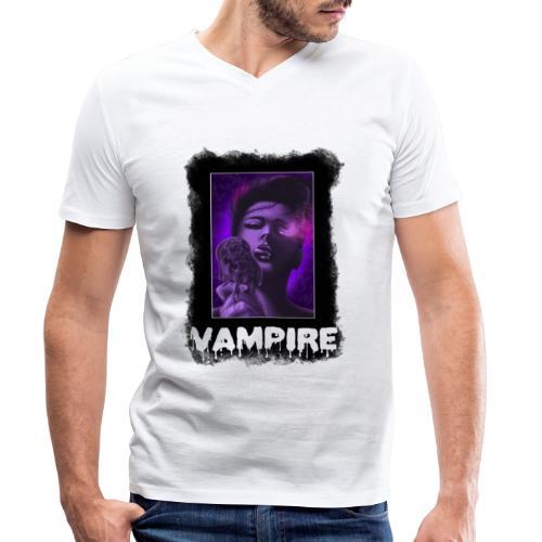 Vampire - Männer Bio-T-Shirt mit V-Ausschnitt von Stanley & Stella