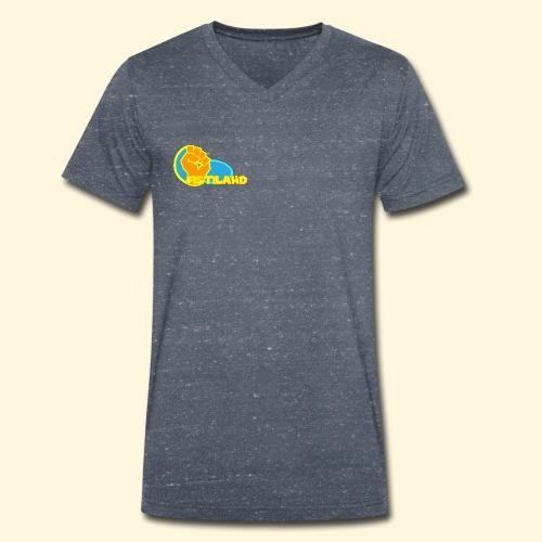FISTILAND en couleur - T-shirt bio col V Stanley & Stella Homme