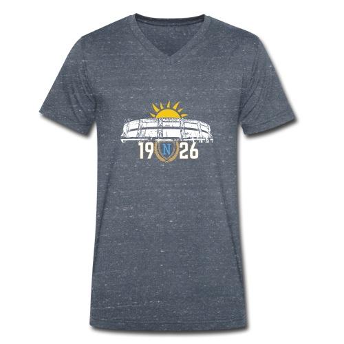 Rising sun on San Paolo Stadium - white version - T-shirt ecologica da uomo con scollo a V di Stanley & Stella