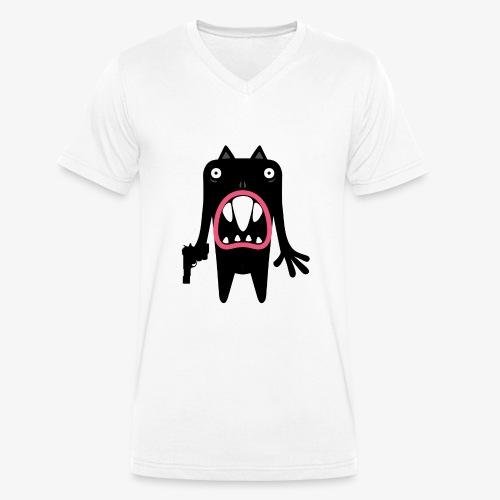 'Oasi' monster 02 - Mannen bio T-shirt met V-hals van Stanley & Stella