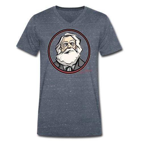 Karl Marx - Männer Bio-T-Shirt mit V-Ausschnitt von Stanley & Stella
