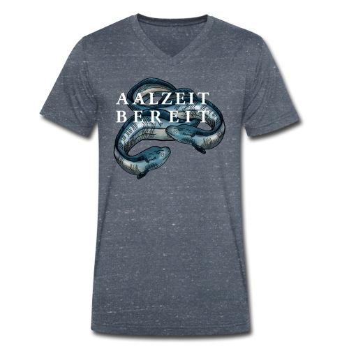 Aalzeit Bereit – Hamburger Singewettstreit - Männer Bio-T-Shirt mit V-Ausschnitt von Stanley & Stella