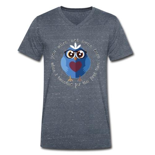 twitter - Männer Bio-T-Shirt mit V-Ausschnitt von Stanley & Stella