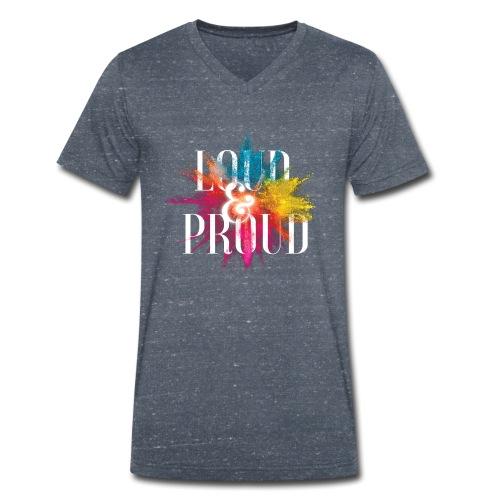 loudandproud - Männer Bio-T-Shirt mit V-Ausschnitt von Stanley & Stella