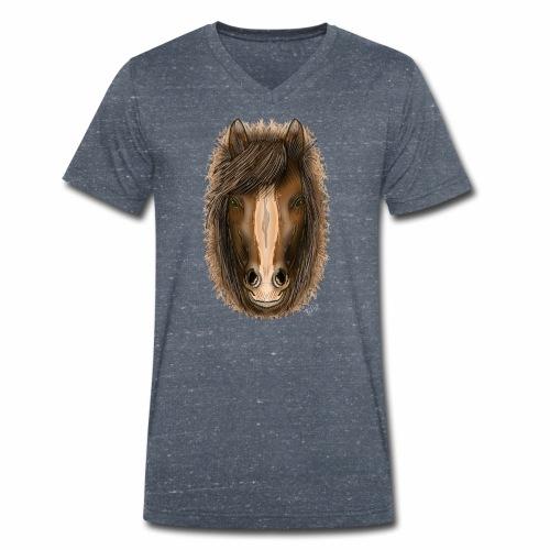 Clop by Jon Ball - Men's Organic V-Neck T-Shirt by Stanley & Stella