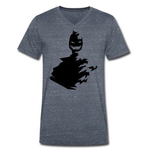 t shirt monster (black/schwarz) - Männer Bio-T-Shirt mit V-Ausschnitt von Stanley & Stella