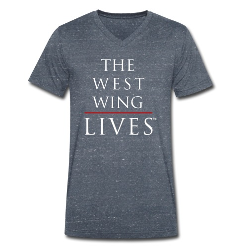 The West Wing Lives - Men's Organic V-Neck T-Shirt by Stanley & Stella