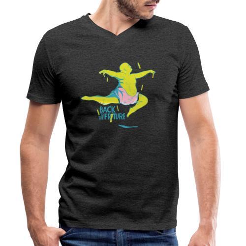 friture-vert - T-shirt bio col V Stanley & Stella Homme