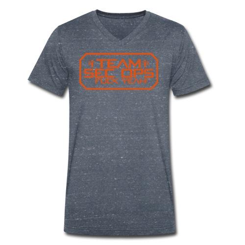 Sec Ops - Männer Bio-T-Shirt mit V-Ausschnitt von Stanley & Stella