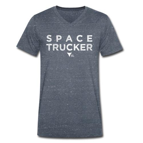 SpaceTrucker ISFA - Männer Bio-T-Shirt mit V-Ausschnitt von Stanley & Stella