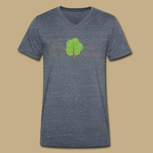 Für den Wald sind wir alle gleich! - Männer Bio-T-Shirt mit V-Ausschnitt von Stanley & Stella