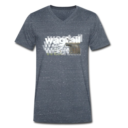 Wagtail - Men's Organic V-Neck T-Shirt by Stanley & Stella