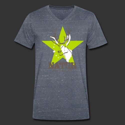 Naturbursche - Männer Bio-T-Shirt mit V-Ausschnitt von Stanley & Stella