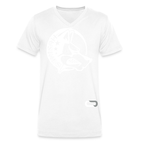 CORED Emblem - Men's Organic V-Neck T-Shirt by Stanley & Stella
