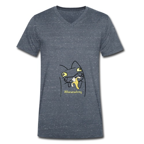 AngeYT s Merchs - Männer Bio-T-Shirt mit V-Ausschnitt von Stanley & Stella
