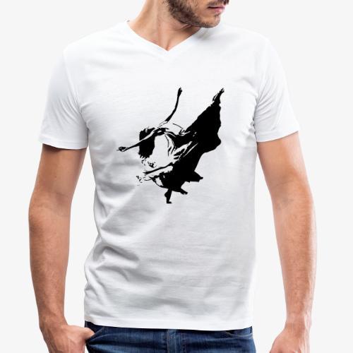 la danseuse libre - T-shirt bio col V Stanley & Stella Homme