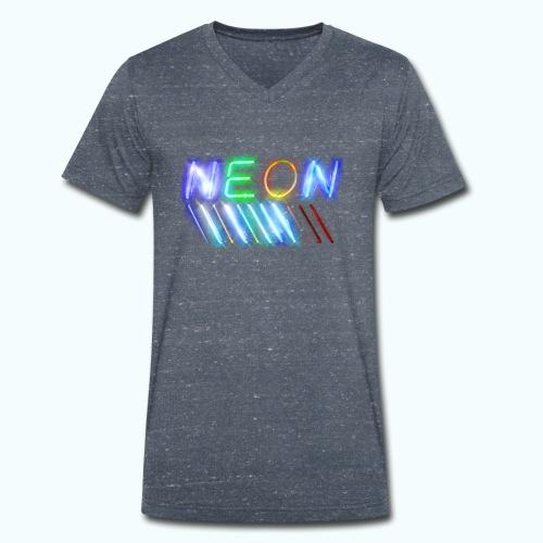 Urban Neon - Men's Organic V-Neck T-Shirt by Stanley & Stella