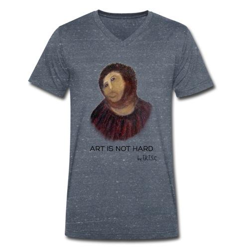 artisnothard - Mannen bio T-shirt met V-hals van Stanley & Stella