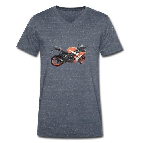 T-shirt Moto - T-shirt bio col V Stanley & Stella Homme