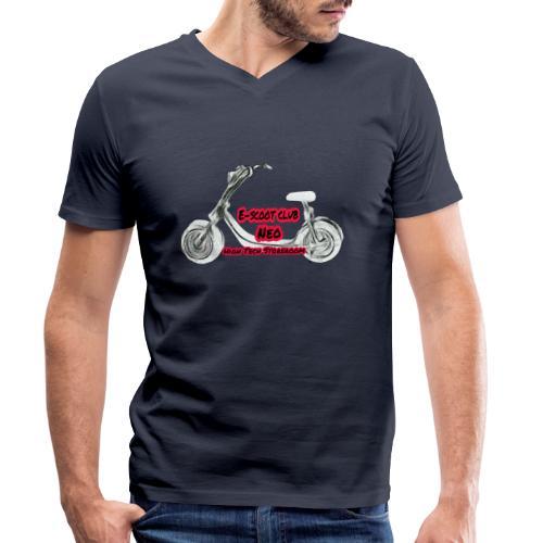 Neorider Scooter Club - T-shirt bio col V Stanley & Stella Homme