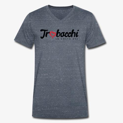La costa dei Trabocchi - T-shirt ecologica da uomo con scollo a V di Stanley & Stella