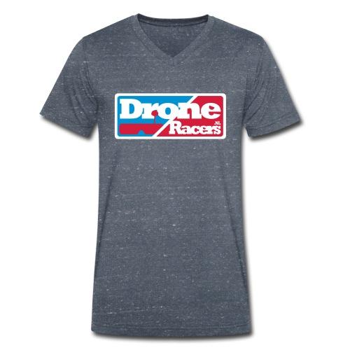 droneracers_logo_final - Mannen bio T-shirt met V-hals van Stanley & Stella