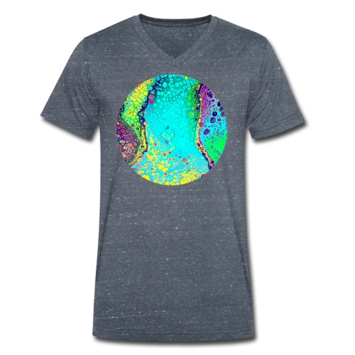 puresplash - Männer Bio-T-Shirt mit V-Ausschnitt von Stanley & Stella
