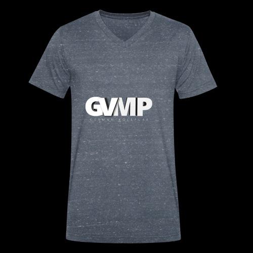 GVMP Schriftzug - Männer Bio-T-Shirt mit V-Ausschnitt von Stanley & Stella