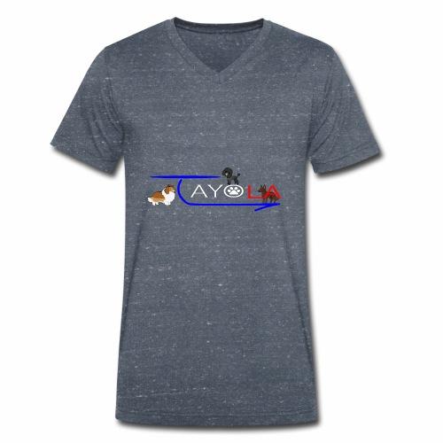 Tayola White - T-shirt bio col V Stanley & Stella Homme