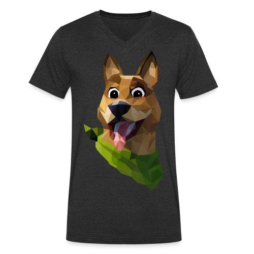 LOW POLY DOGO - T-shirt bio col V Stanley & Stella Homme
