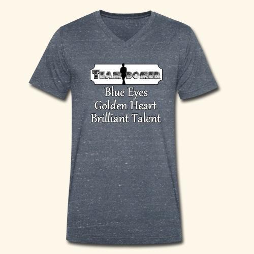 Team B - Men's Organic V-Neck T-Shirt by Stanley & Stella