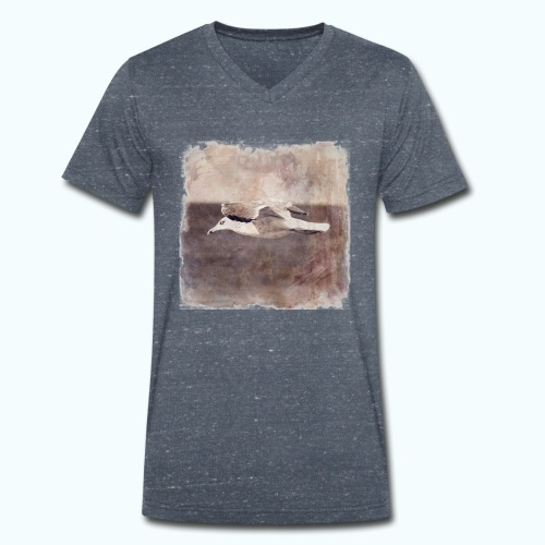 Seaside - Limited Edition - Men's Organic V-Neck T-Shirt by Stanley & Stella
