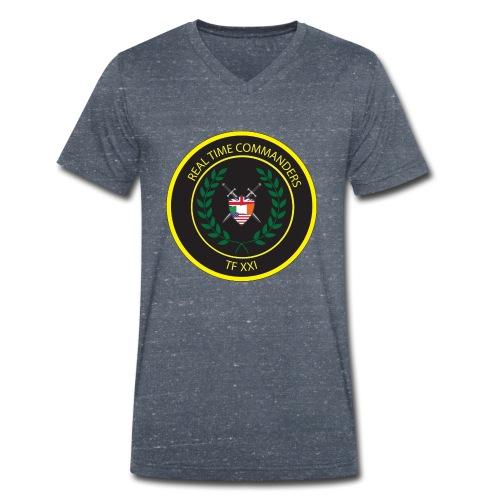 TASK FORCE 21 - Men's Organic V-Neck T-Shirt by Stanley & Stella
