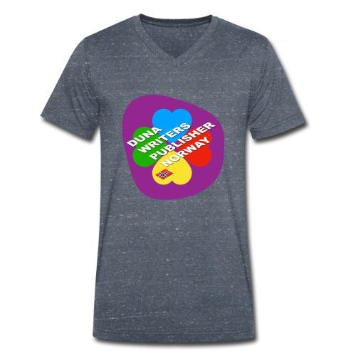 Duna Writers - Økologisk T-skjorte med V-hals for menn fra Stanley & Stella