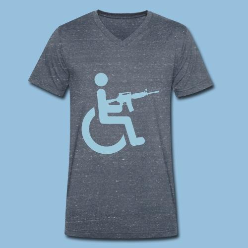 WheelchairM16 - Mannen bio T-shirt met V-hals van Stanley & Stella
