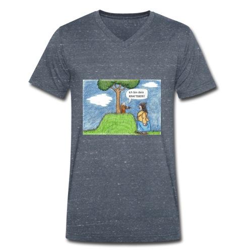 Kraftbier - Männer Bio-T-Shirt mit V-Ausschnitt von Stanley & Stella
