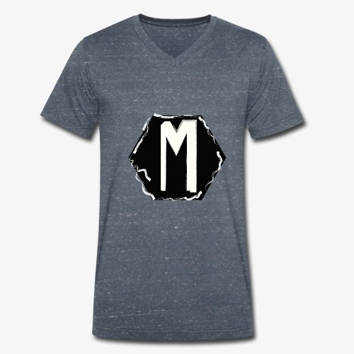 MNNG V2 - Mannen bio T-shirt met V-hals van Stanley & Stella