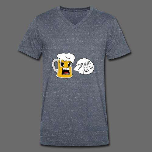 Bière - T-shirt bio col V Stanley & Stella Homme