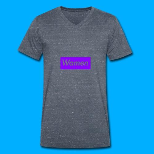Wamen T-Shirt Design - Men's Organic V-Neck T-Shirt by Stanley & Stella