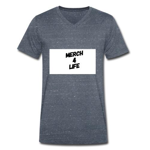 Merch4life/link-in-Bio-shirts+lots More/ - Men's Organic V-Neck T-Shirt by Stanley & Stella