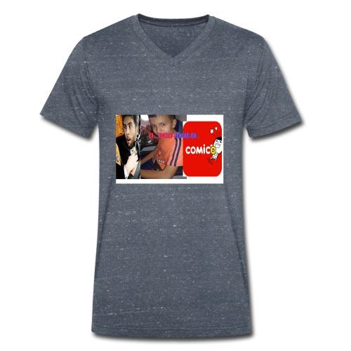 il mio idolo - T-shirt ecologica da uomo con scollo a V di Stanley & Stella
