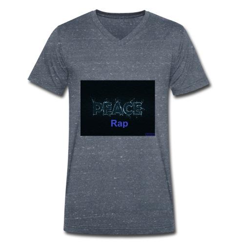 Peace Rap - Männer Bio-T-Shirt mit V-Ausschnitt von Stanley & Stella