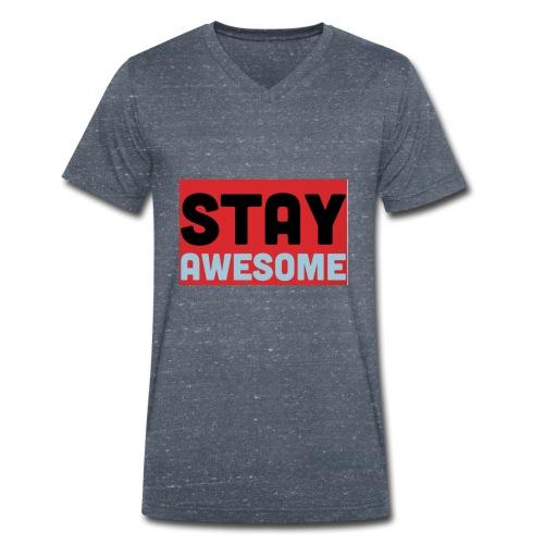 425AEEFD 7DFC 4027 B818 49FD9A7CE93D - Men's Organic V-Neck T-Shirt by Stanley & Stella