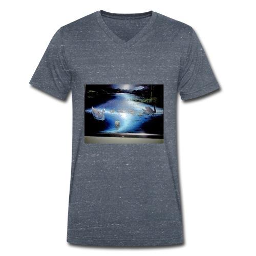 19 8IMG 20180818 140320 - Männer Bio-T-Shirt mit V-Ausschnitt von Stanley & Stella