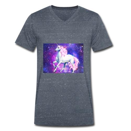 Magical unicorn shirt - Men's Organic V-Neck T-Shirt by Stanley & Stella
